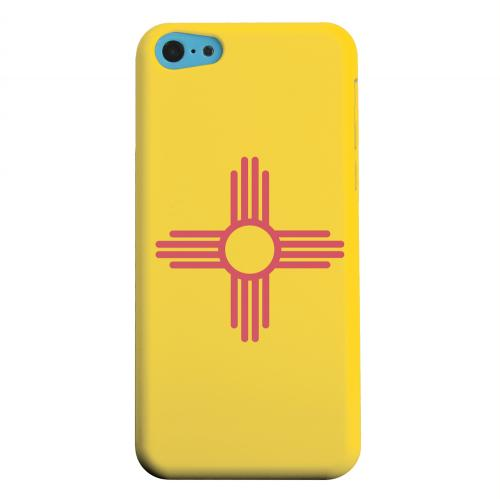 Geeks Designer Line (GDL) Apple iPhone 5C Matte Hard Back Cover - New Mexico