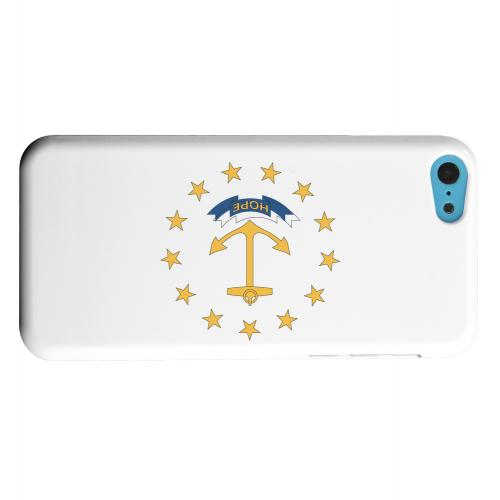 Geeks Designer Line (GDL) Apple iPhone 5C Matte Hard Back Cover - Rhode Island