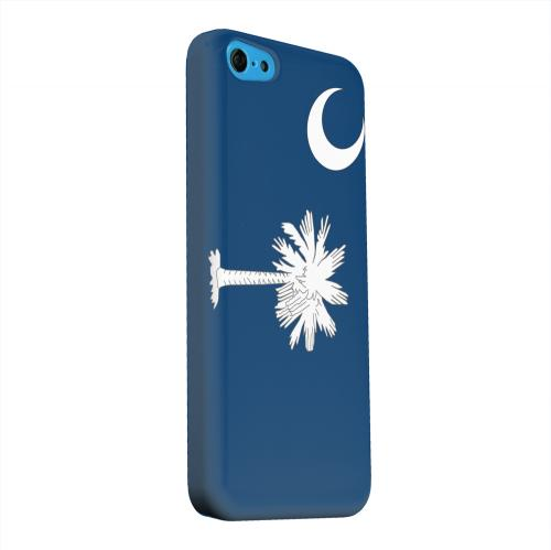 Geeks Designer Line (GDL) Apple iPhone 5C Matte Hard Back Cover - South Carolina