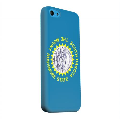 Geeks Designer Line (GDL) Apple iPhone 5C Matte Hard Back Cover - South Dakota