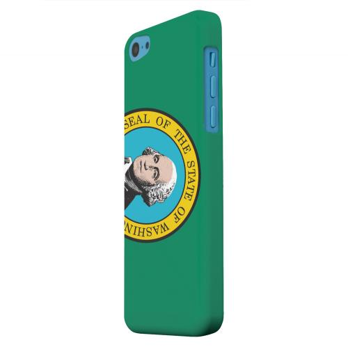 Geeks Designer Line (GDL) Apple iPhone 5C Matte Hard Back Cover - Washington