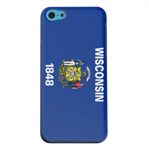 Geeks Designer Line (GDL) Apple iPhone 5C Matte Hard Back Cover - Wisconsin