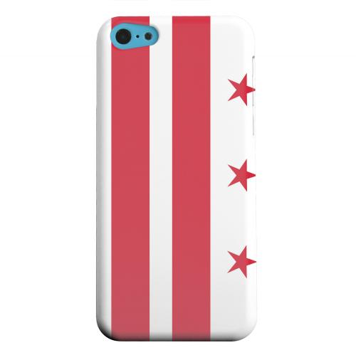 Geeks Designer Line (GDL) Apple iPhone 5C Matte Hard Back Cover - Washington, D.C.