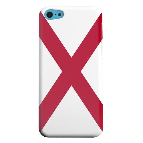 Geeks Designer Line (GDL) Apple iPhone 5C Matte Hard Back Cover - Alabama