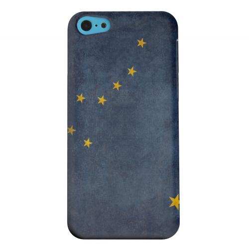 Geeks Designer Line (GDL) Apple iPhone 5C Matte Hard Back Cover - Grunge Alaska