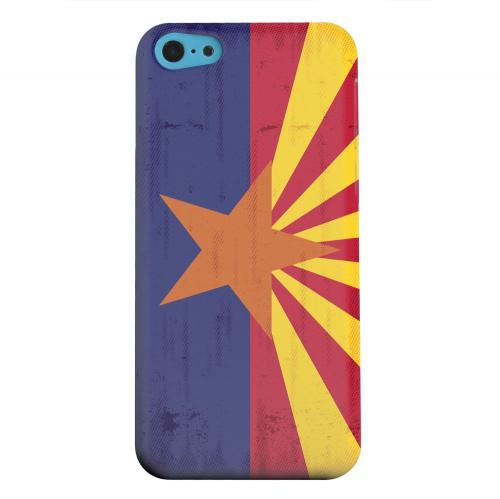 Geeks Designer Line (GDL) Apple iPhone 5C Matte Hard Back Cover - Grunge Arizona