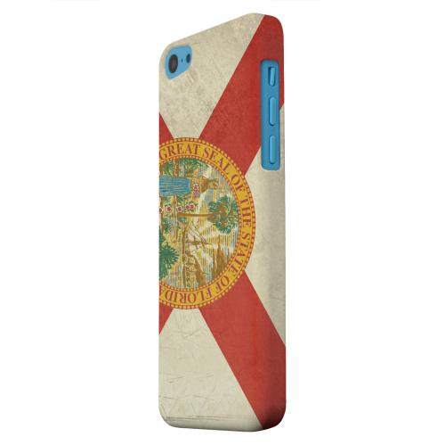 Geeks Designer Line (GDL) Apple iPhone 5C Matte Hard Back Cover - Grunge Florida