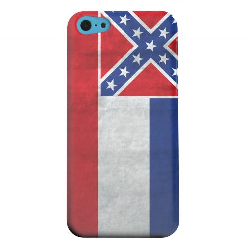 Geeks Designer Line (GDL) Apple iPhone 5C Matte Hard Back Cover - Grunge Mississippi
