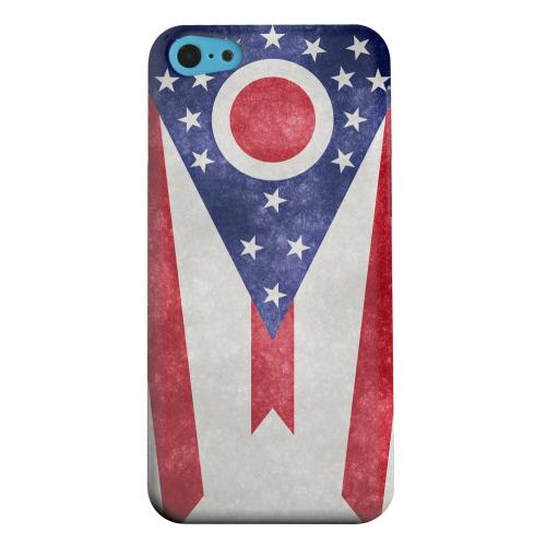 Geeks Designer Line (GDL) Apple iPhone 5C Matte Hard Back Cover - Grunge Ohio