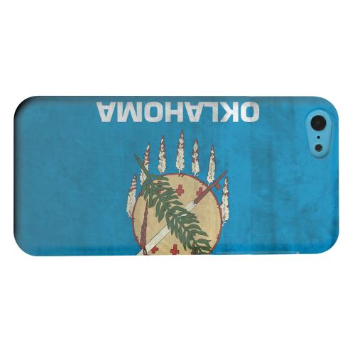 Geeks Designer Line (GDL) Apple iPhone 5C Matte Hard Back Cover - Grunge Oklahoma