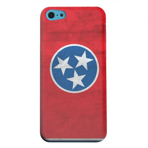 Geeks Designer Line (GDL) Apple iPhone 5C Matte Hard Back Cover - Grunge Tennessee
