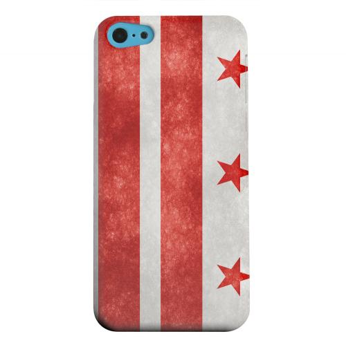 Geeks Designer Line (GDL) Apple iPhone 5C Matte Hard Back Cover - Grunge Washington, D.C.