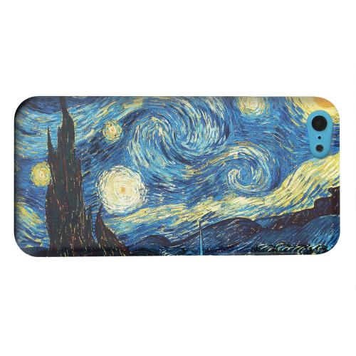 Geeks Designer Line (GDL) Apple iPhone 5C Matte Hard Back Cover - Vincent Van Gogh Starry Night