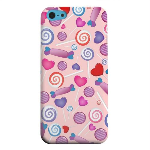 Geeks Designer Line (GDL) Apple iPhone 5C Matte Hard Back Cover - Assorted Candy