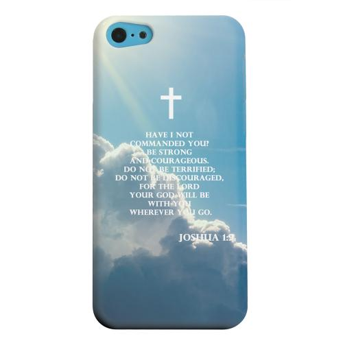 Geeks Designer Line (GDL) Apple iPhone 5C Matte Hard Back Cover - Joshua 1:9