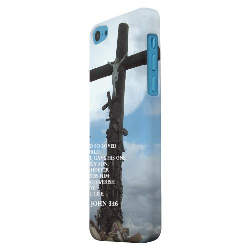 Geeks Designer Line (GDL) Apple iPhone 5C Matte Hard Back Cover - John 3:16