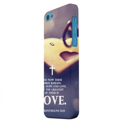 Geeks Designer Line (GDL) Apple iPhone 5C Matte Hard Back Cover - Corinthians 13:13