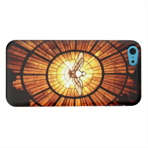 Geeks Designer Line (GDL) Apple iPhone 5C Matte Hard Back Cover - Holy Spirit Glass