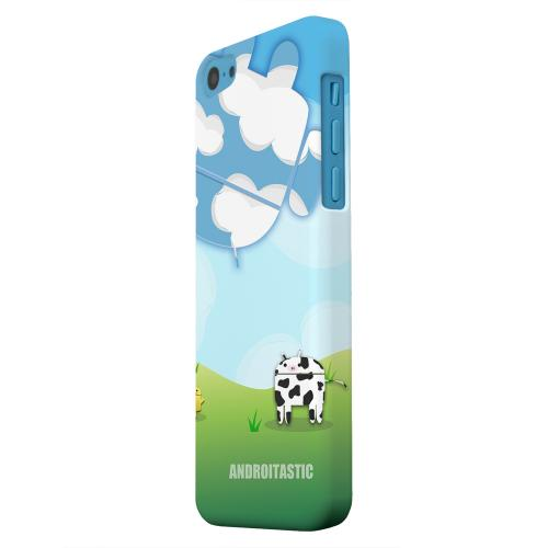 Geeks Designer Line (GDL) Apple iPhone 5C Matte Hard Back Cover - Old McDroidald Had a Farm