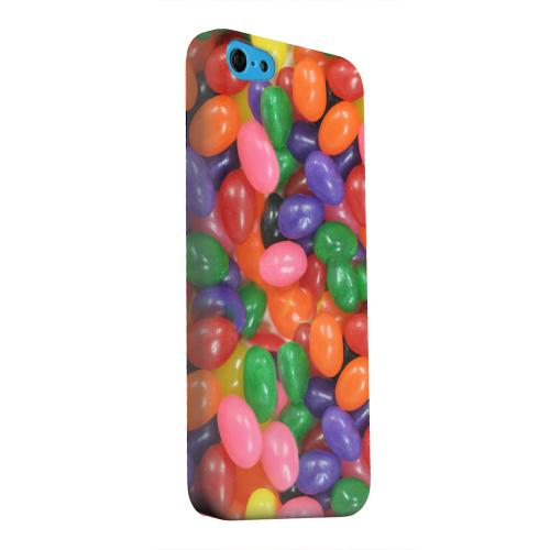 Geeks Designer Line (GDL) Apple iPhone 5C Matte Hard Back Cover - Assorted Jelly Beans