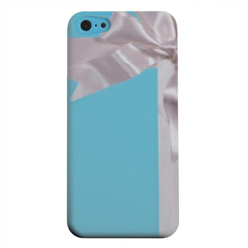 Geeks Designer Line (GDL) Apple iPhone 5C Matte Hard Back Cover - Turquoise Gift w/ White Satin Bow