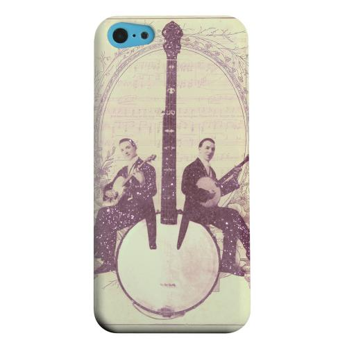 Geeks Designer Line (GDL) Apple iPhone 5C Matte Hard Back Cover - Folk