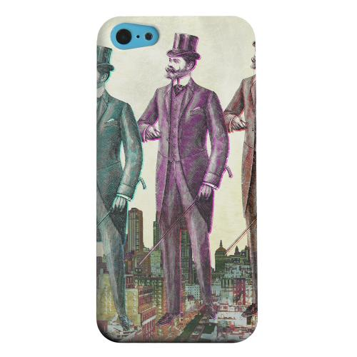 Geeks Designer Line (GDL) Apple iPhone 5C Matte Hard Back Cover - New York Like A Sir