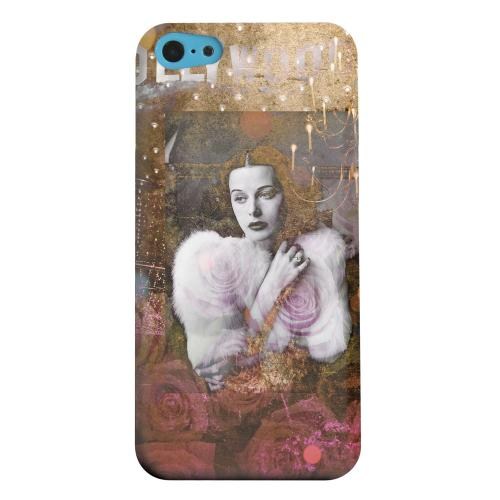 Geeks Designer Line (GDL) Apple iPhone 5C Matte Hard Back Cover - Hollywood Glam
