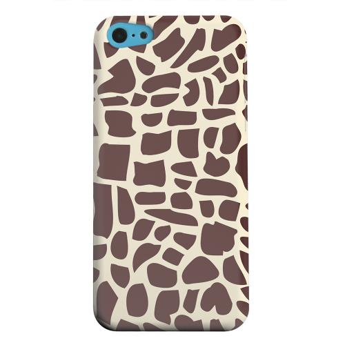Geeks Designer Line (GDL) Apple iPhone 5C Matte Hard Back Cover - Giraffe
