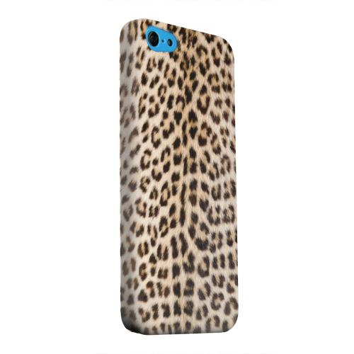 Geeks Designer Line (GDL) Apple iPhone 5C Matte Hard Back Cover - Leopard Print
