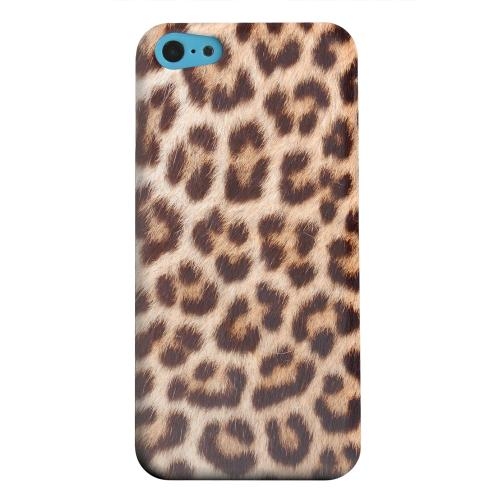 Geeks Designer Line (GDL) Apple iPhone 5C Matte Hard Back Cover - Leopard Close-Up