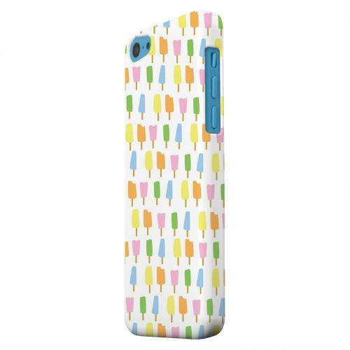 Geeks Designer Line (GDL) Apple iPhone 5C Matte Hard Back Cover - Assorted Popsicles