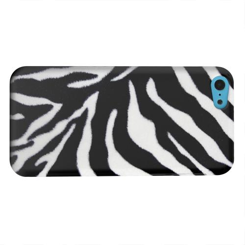 Geeks Designer Line (GDL) Apple iPhone 5C Matte Hard Back Cover - Zebra Print