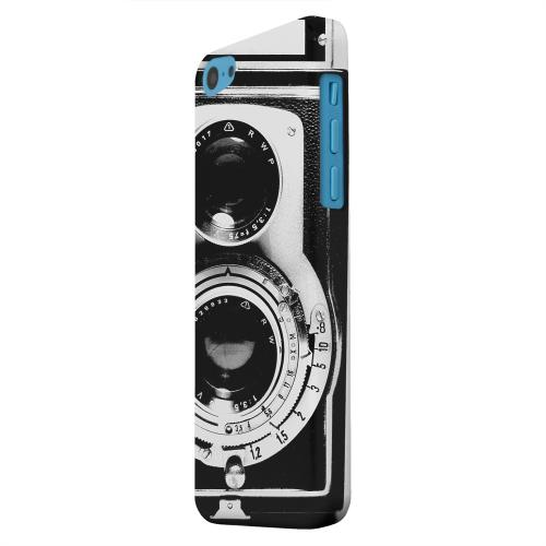 Geeks Designer Line (GDL) Apple iPhone 5C Matte Hard Back Cover - Black Film Noir Camera