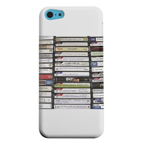 Geeks Designer Line (GDL) Apple iPhone 5C Matte Hard Back Cover - VHS