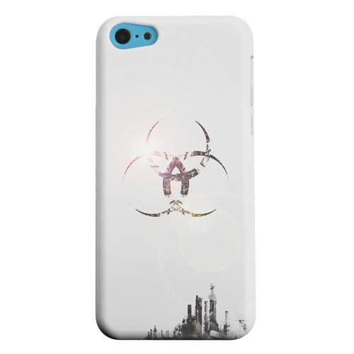 Geeks Designer Line (GDL) Apple iPhone 5C Matte Hard Back Cover - Ghost Town
