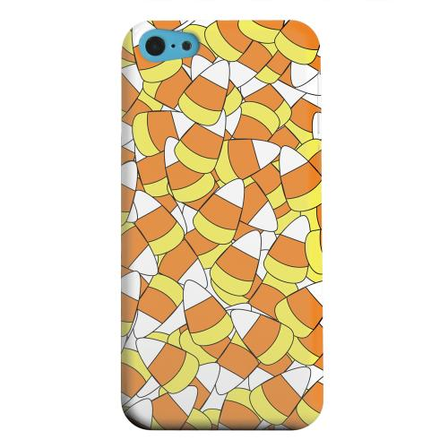 Geeks Designer Line (GDL) Apple iPhone 5C Matte Hard Back Cover - Candy Corn Galore