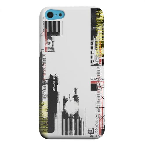 Geeks Designer Line (GDL) Apple iPhone 5C Matte Hard Back Cover - Industrial District
