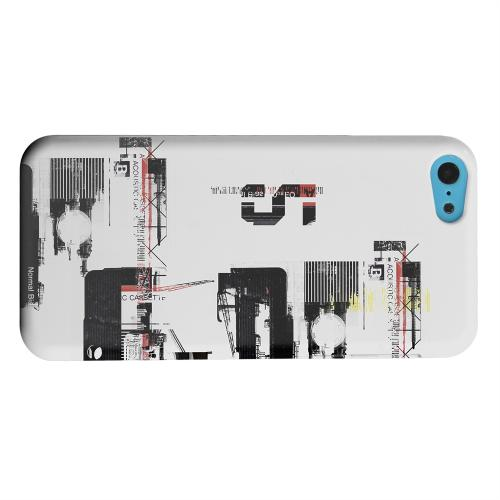 Geeks Designer Line (GDL) Apple iPhone 5C Matte Hard Back Cover - District 5