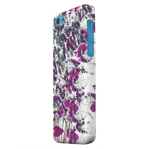 Geeks Designer Line (GDL) Apple iPhone 5C Matte Hard Back Cover - Feather Love