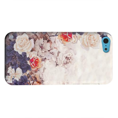 Geeks Designer Line (GDL) Apple iPhone 5C Matte Hard Back Cover - Vintage Roses