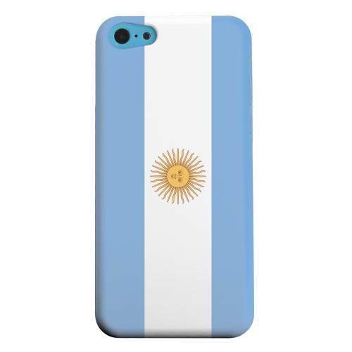 Geeks Designer Line (GDL) Apple iPhone 5C Matte Hard Back Cover - Argentina