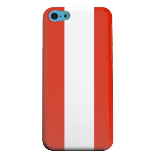 Geeks Designer Line (GDL) Apple iPhone 5C Matte Hard Back Cover - Austria