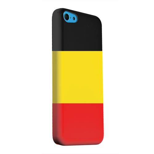 Geeks Designer Line (GDL) Apple iPhone 5C Matte Hard Back Cover - Belgium