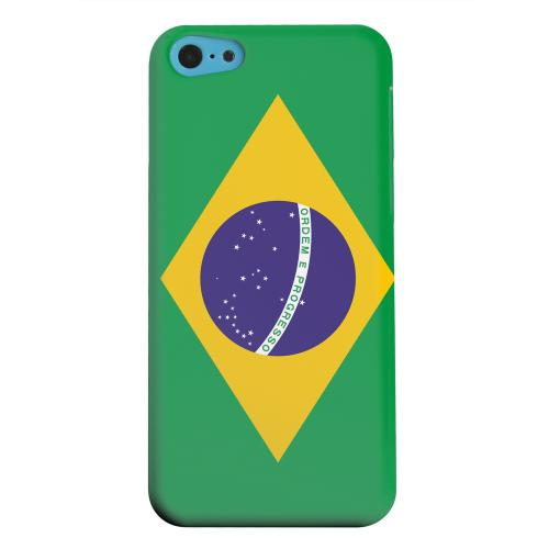 Geeks Designer Line (GDL) Apple iPhone 5C Matte Hard Back Cover - Brazil