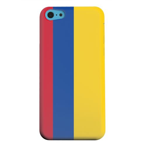 Geeks Designer Line (GDL) Apple iPhone 5C Matte Hard Back Cover - Colombia