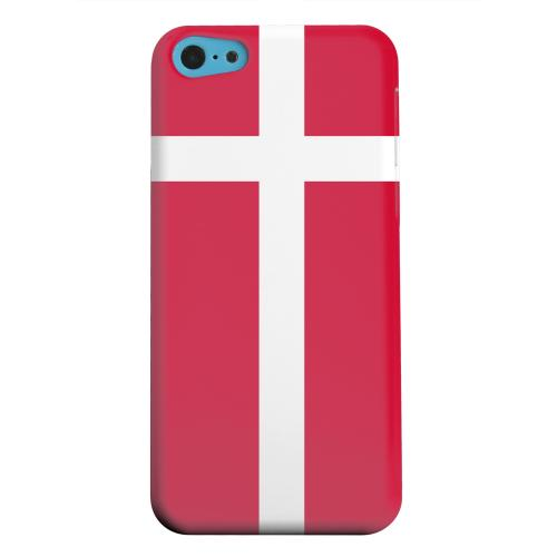 Geeks Designer Line (GDL) Apple iPhone 5C Matte Hard Back Cover - Denmark
