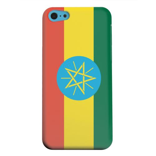 Geeks Designer Line (GDL) Apple iPhone 5C Matte Hard Back Cover - Ethiopia