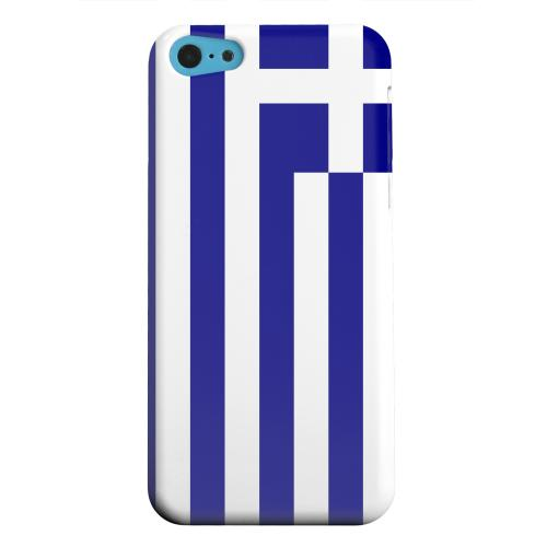 Geeks Designer Line (GDL) Apple iPhone 5C Matte Hard Back Cover - Greece