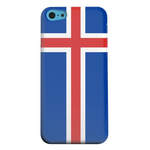 Geeks Designer Line (GDL) Apple iPhone 5C Matte Hard Back Cover - Iceland
